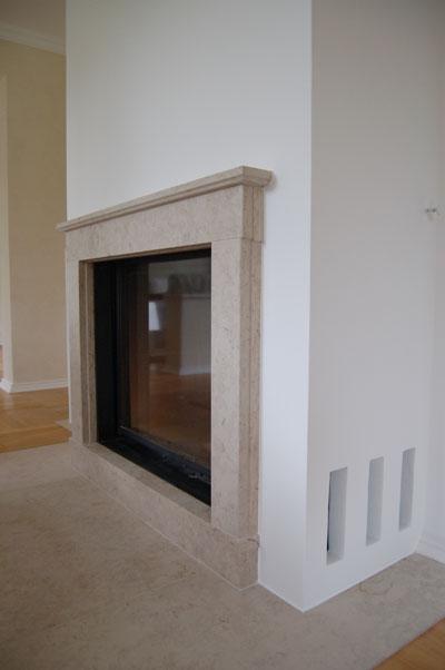 Kaminbau im Privathaus