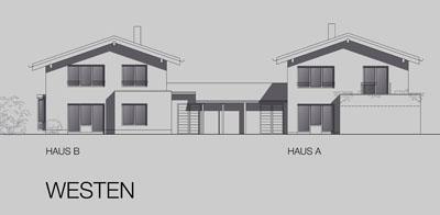 Neubau von 2 Wohnhäusern