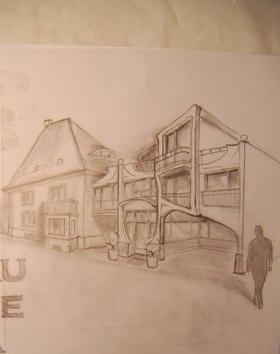 Anbau an ein historisches Gebäude in München