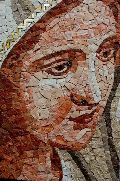 Bemusterung Mosaik