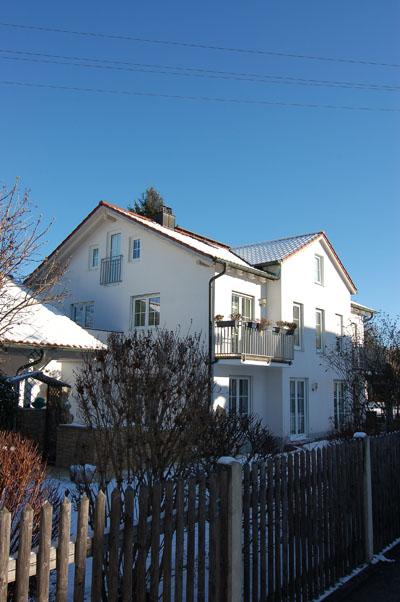 Neubau eines Dreifamilienhauses in Gauting