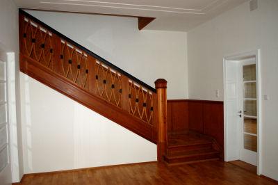Treppenhaus einer  Villa aus den 30er Jahre in Starnbergn