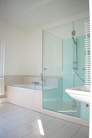 Neues Bad  in einer schönen alten Starnberger Villa aus den 30er Jahren