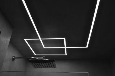LED-Leuchten im Duschbereich